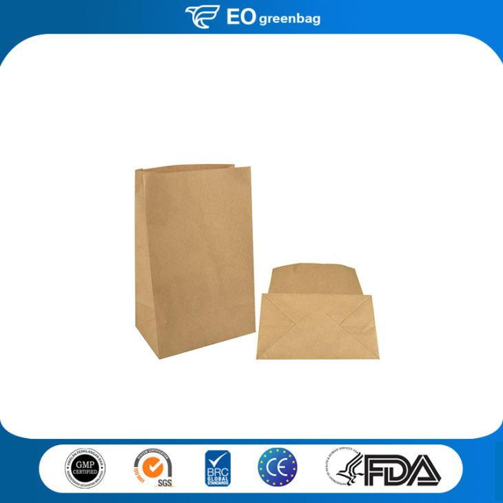 Block Bottom Paper Food Bag