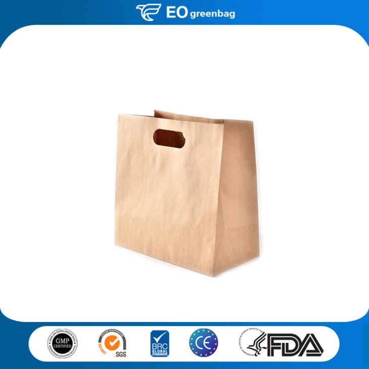 Brown Kraft Paper Food Bag