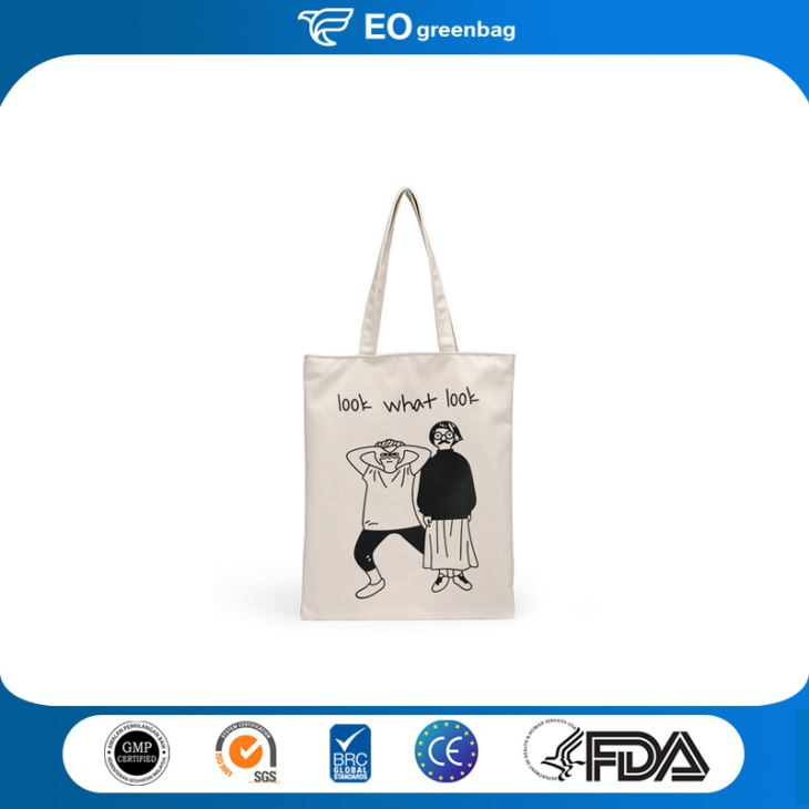 Canvas Shopping Bag with Printing