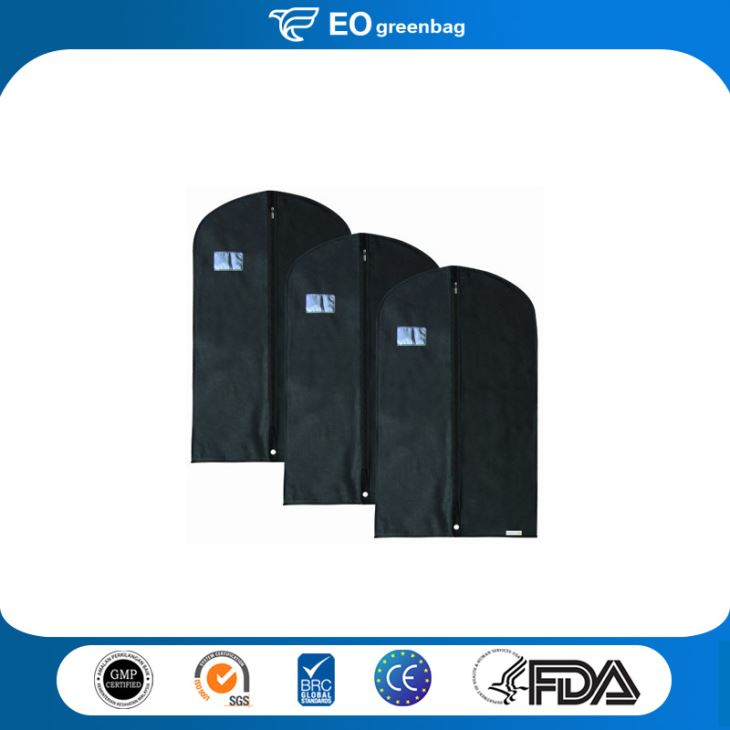 Cotton Garment Bag with Window