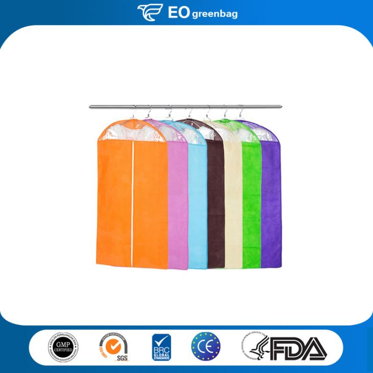 Nonwoven Garment Bag with Window
