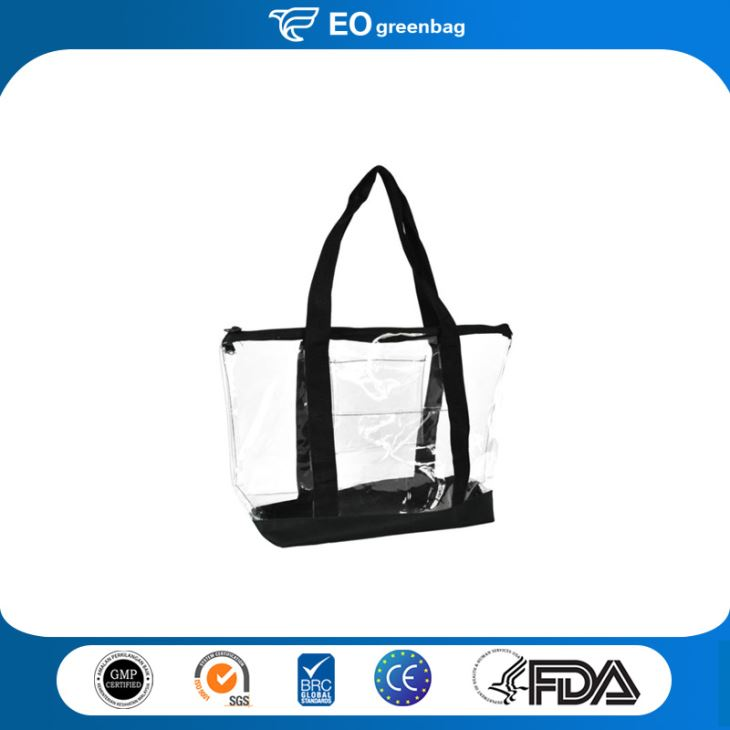 PVC Shopping Bag with Zipper