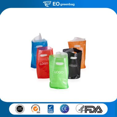 HDPE Shopping Bag with Logo