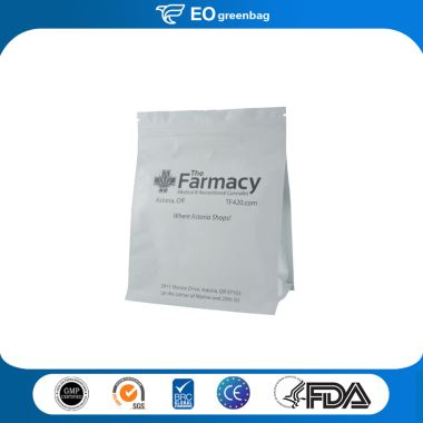 Paper Medical Bag with Zipper