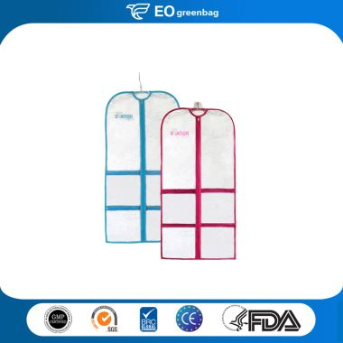 Plastic Garment Bag with Pockets