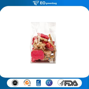 Square Bottom Plastic Food Bags